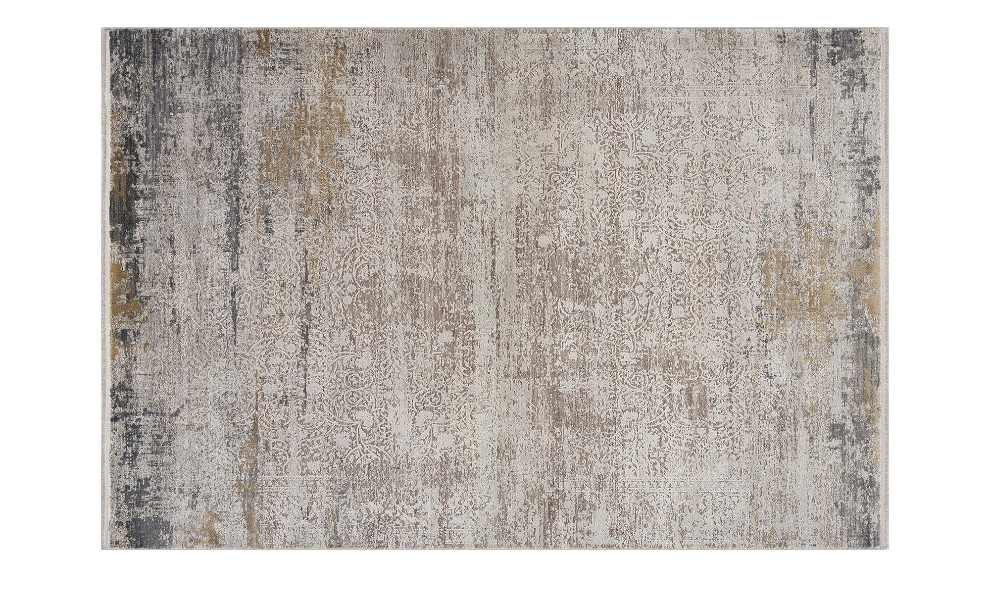 Kurzflorteppich  Pesaro ¦ grau ¦ Synthethische Fasern Teppiche > Wohnteppic günstig online kaufen