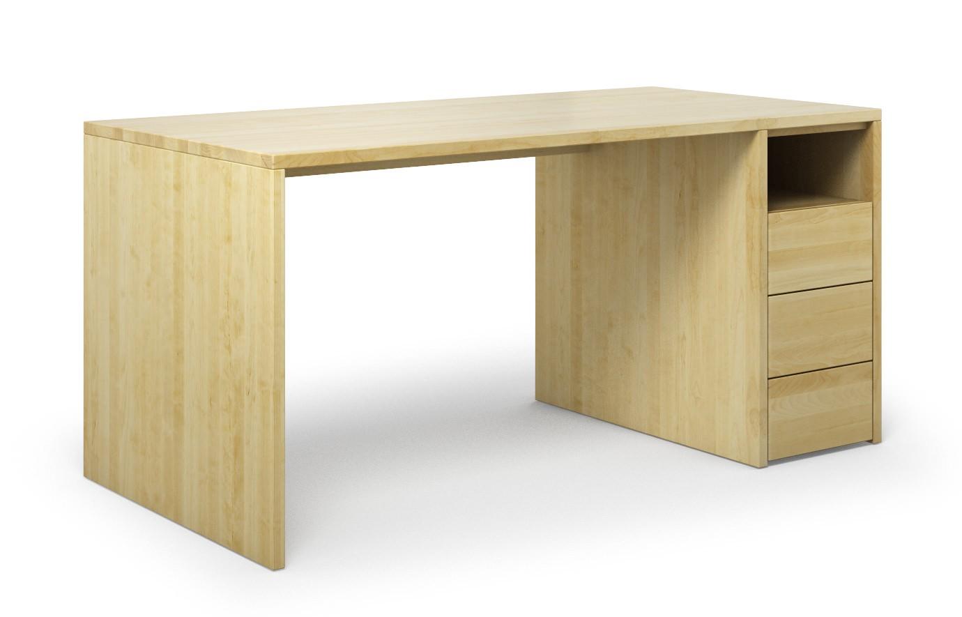 Schreibtisch Labora aus Birke günstig online kaufen