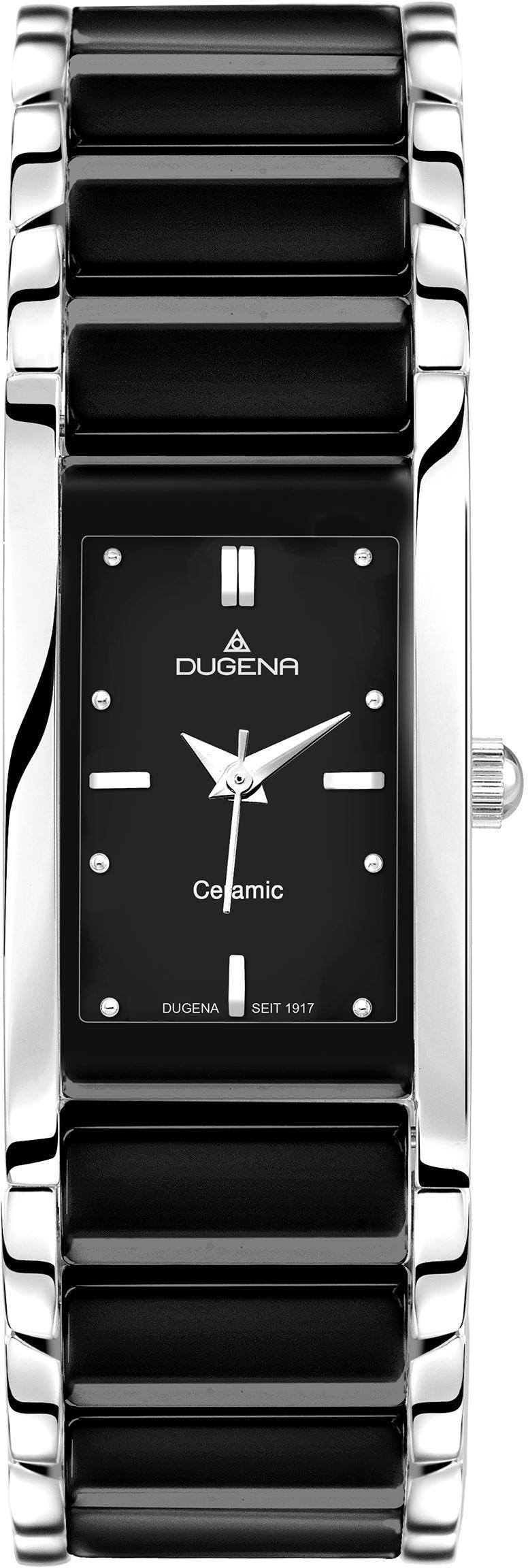 Dugena Quarzuhr Quadra Ceramica, 4460507 günstig online kaufen