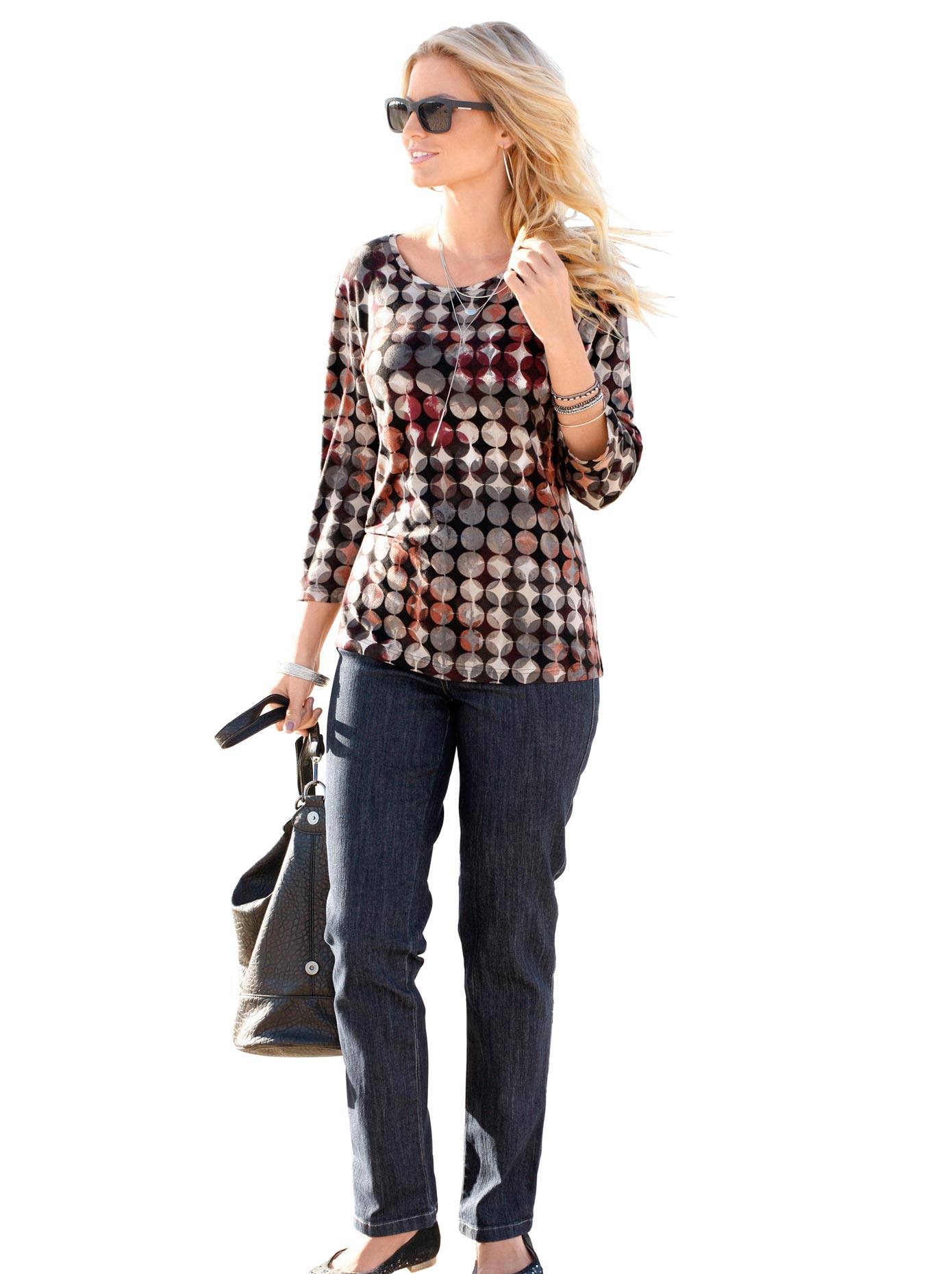 Casual Looks 5-Pocket-Jeans günstig online kaufen