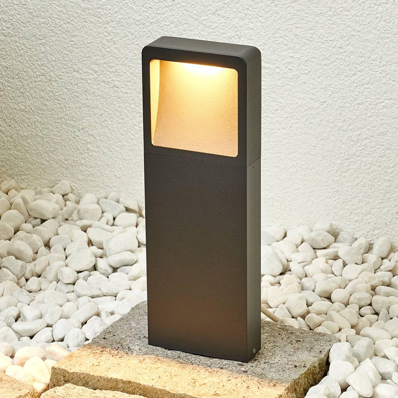 Moderne LED-Sockelleuchte Leya günstig online kaufen