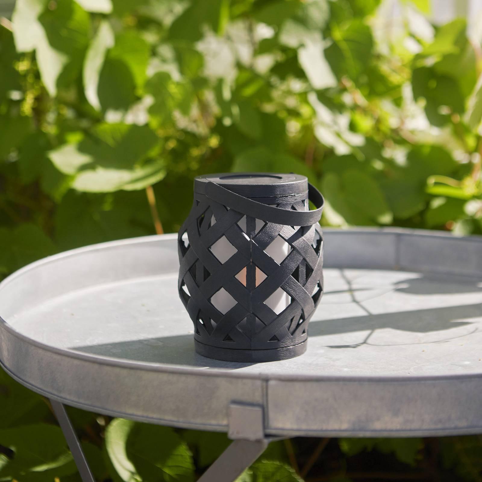 LED-Laterne Flame Lantern, schwarz, Höhe 16 cm günstig online kaufen