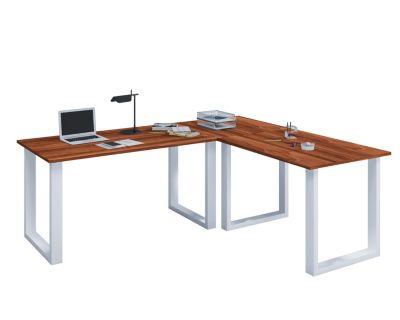 VCM Eckschreibtisch, Schreibtisch, Büromöbel, Computertisch, Winkeltisch, T günstig online kaufen