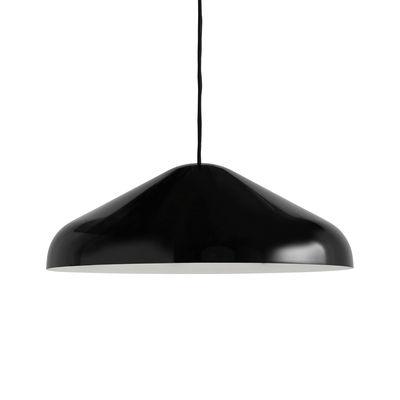 Pao Large Pendelleuchte / Ø 47 cm - Stahl - Hay - Schwarz günstig online kaufen