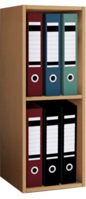 VCM Aktenregal Bücherregal Büroregal Ordnerregal Holz Regal Offas 2fach bra günstig online kaufen