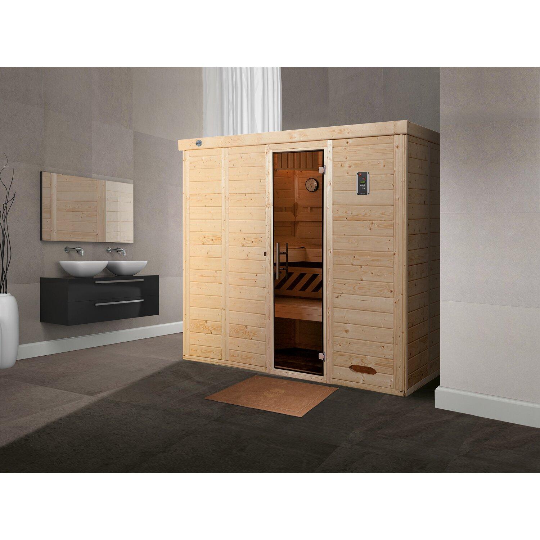 Weka Design-Sauna Kemi 5, Glastür günstig online kaufen