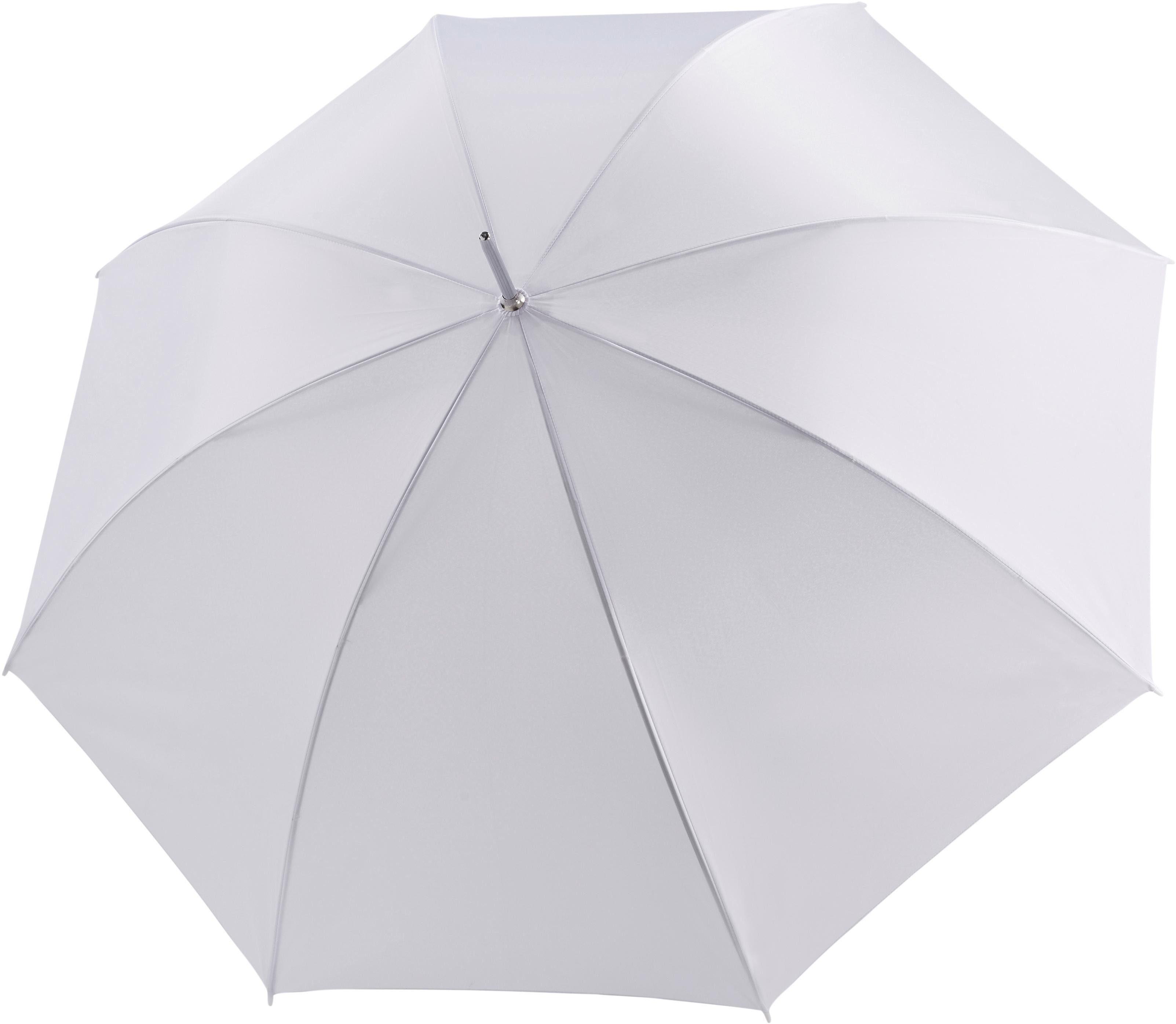 doppler Partnerschirm Big Wedding uni weiß, mit übergroßem Schirmdach günstig online kaufen
