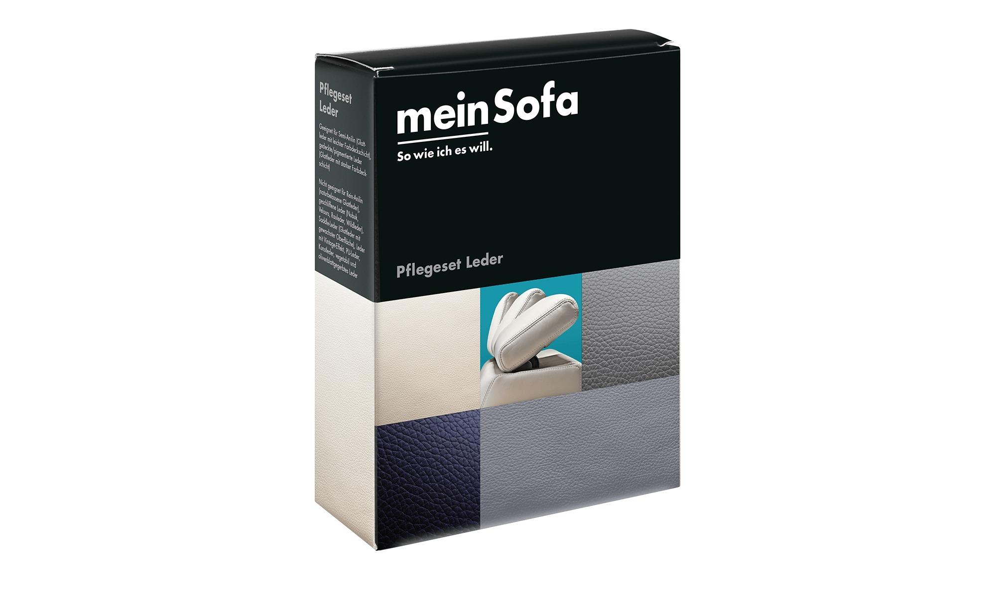 Pflegeset für Lederbezüge  Mein Sofa Polstermöbel > Polsterzubehör - Höffne günstig online kaufen