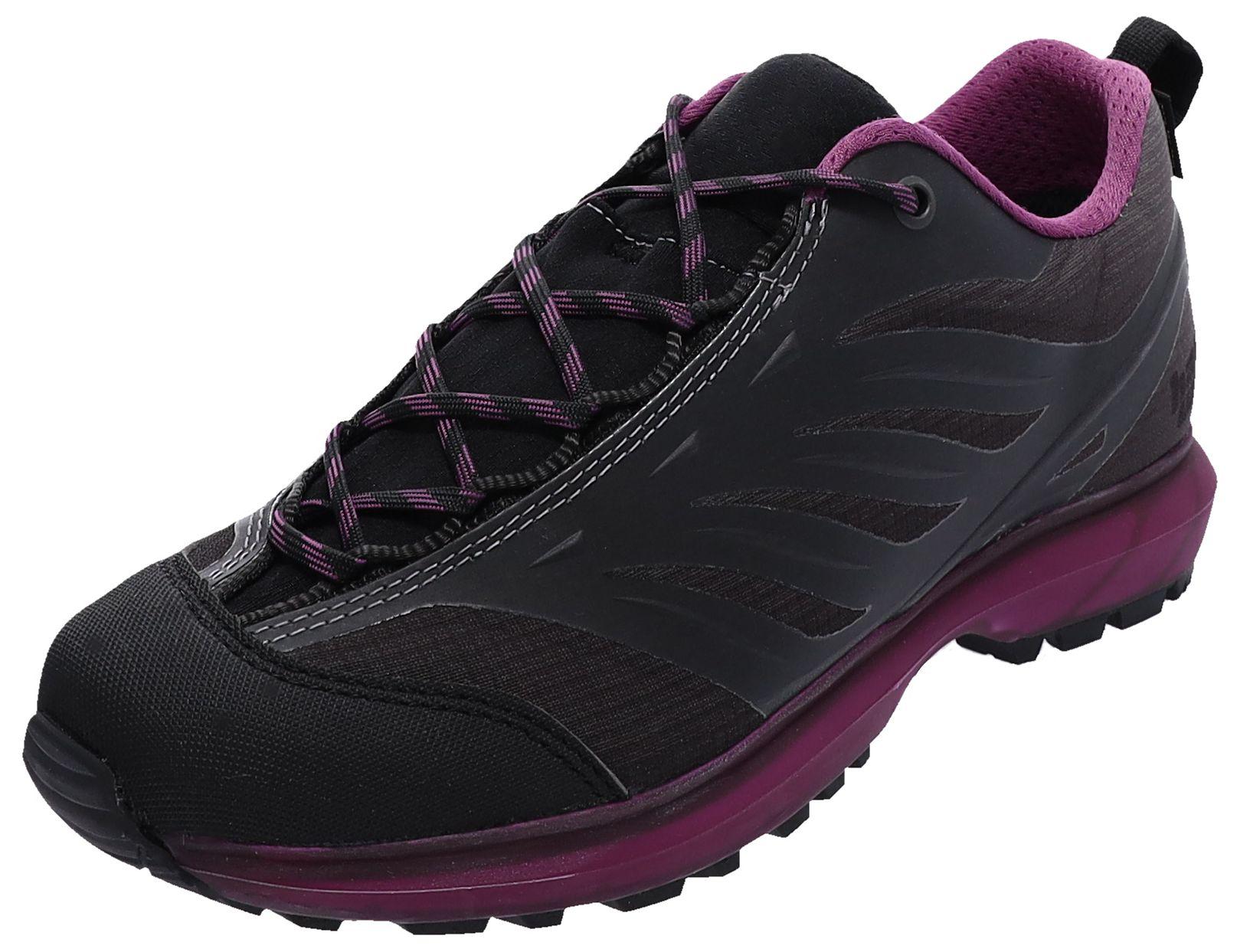 Hanwag EVORADO LOW LADY GTX Asphalt Berry Damen Hikingschuhe Grau günstig online kaufen