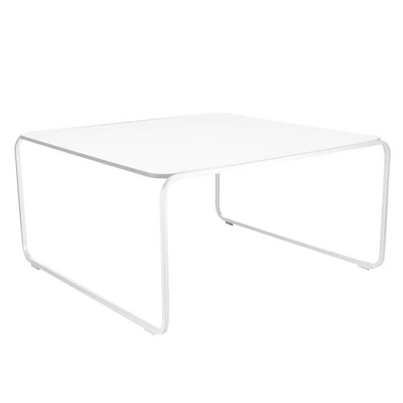 Lapalma - Toe' 70 Beistelltisch - weiß/HPL Fenix weiß/Gestell weiß lackiert günstig online kaufen
