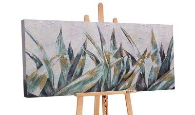 """YS-Art™ """"Gemälde Acryl """"""""Herbstnuancen"""""""" handgemalt auf Leinwand"""" grün Gr. günstig online kaufen"""