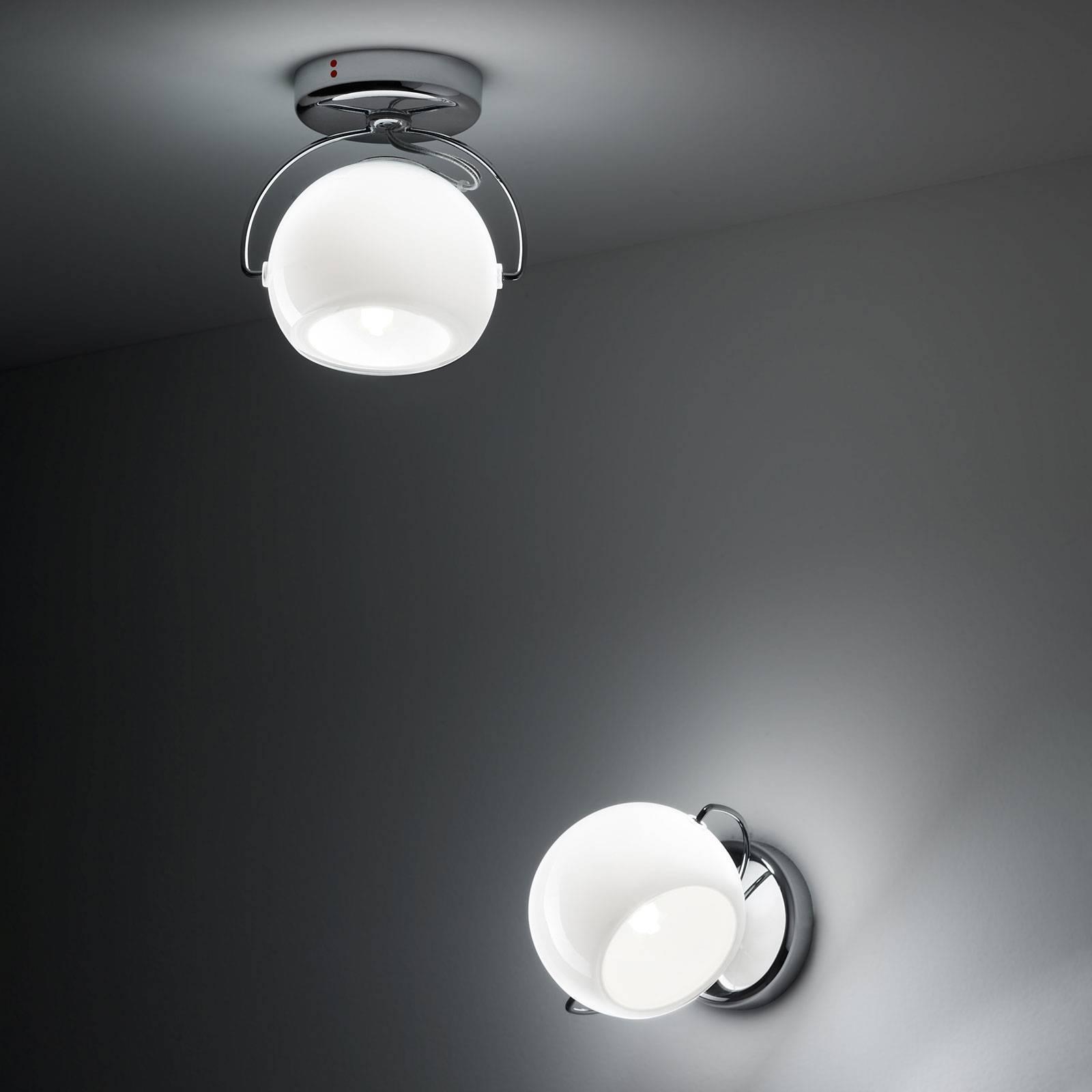 Fabbian Beluga White Deckenlampe direkt 1-flammig günstig online kaufen