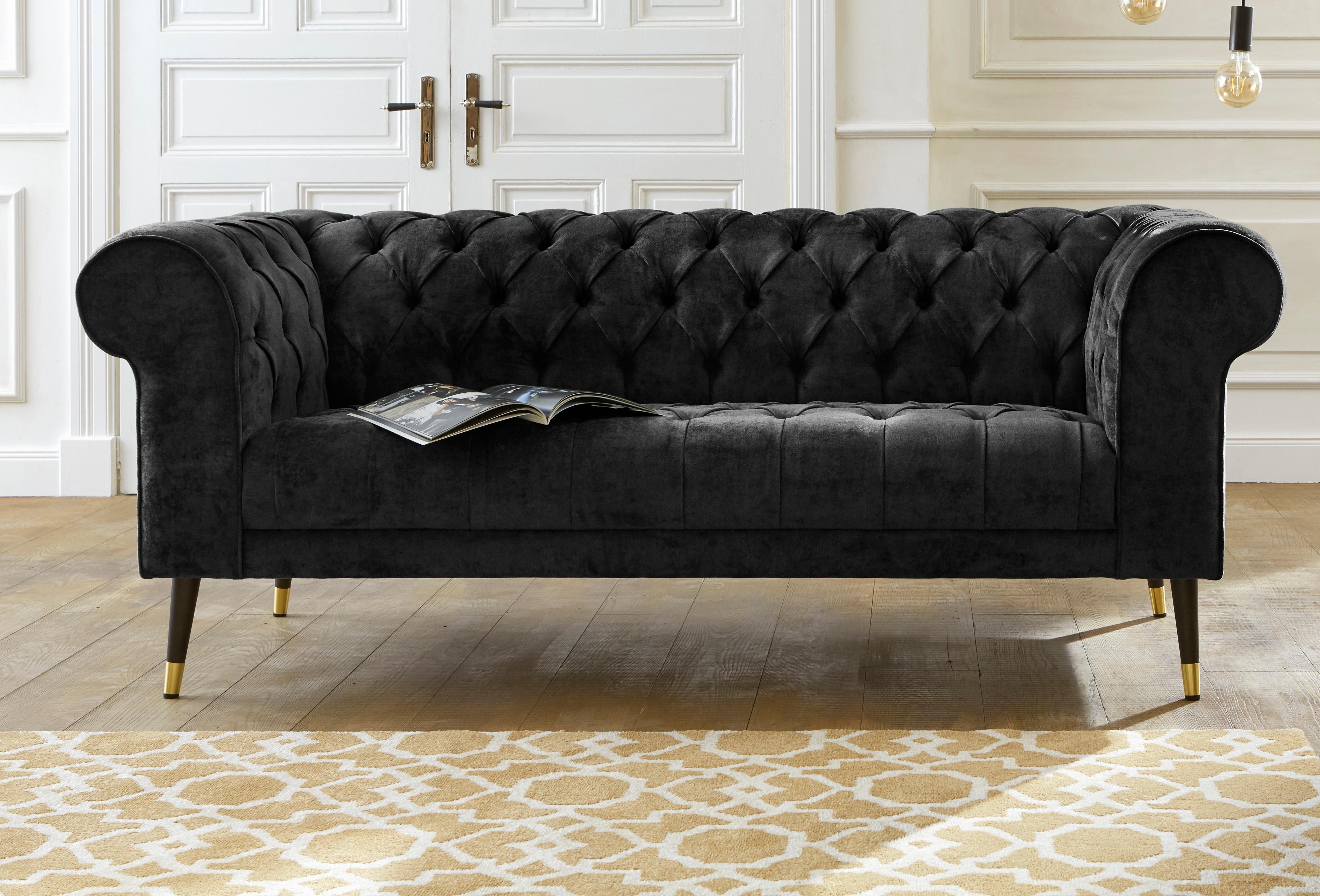 Guido Maria Kretschmer Home&Living Chesterfield-Sofa »Tinnum« günstig online kaufen
