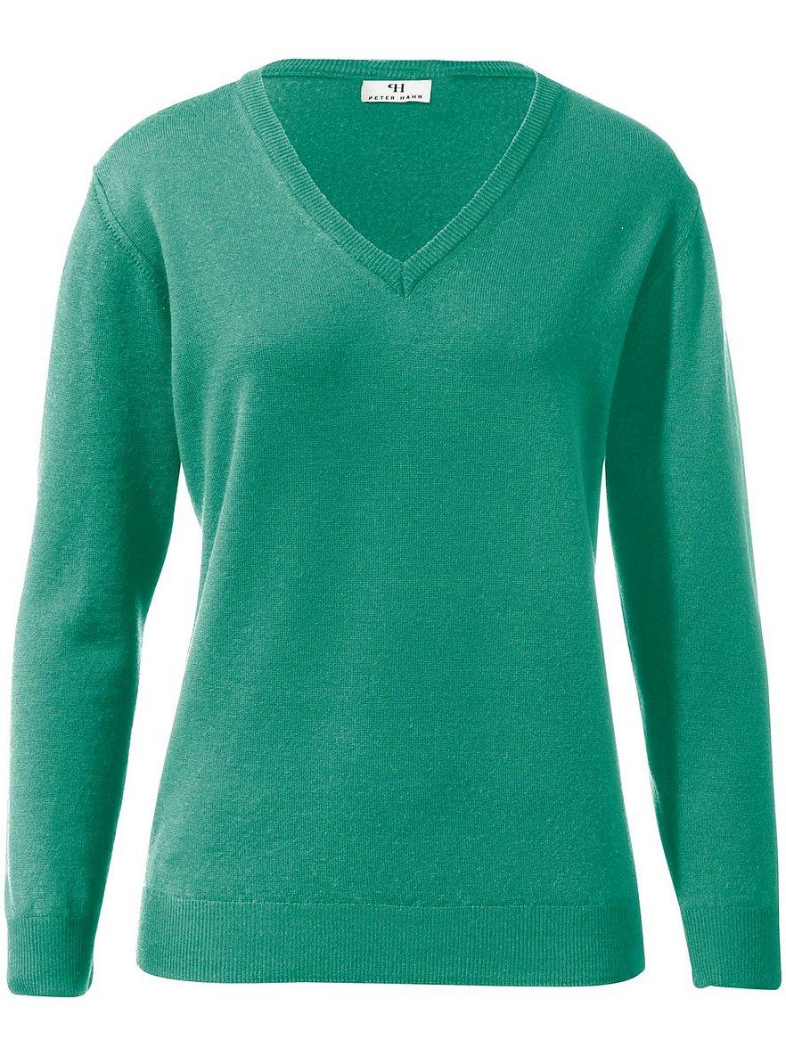 V-Pullover aus 100% Schurwolle Pure Tasmanian Wool Peter Hahn türkis Größe: günstig online kaufen