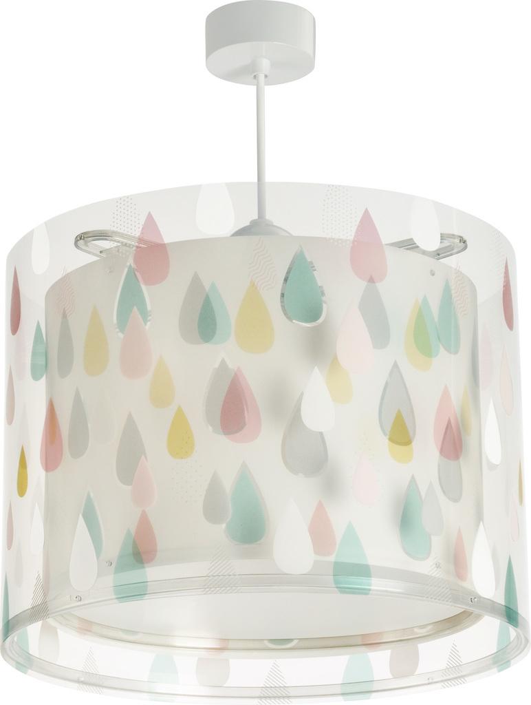 Dalber Hängelampe Regentropfen, pastellfarben weiß günstig online kaufen
