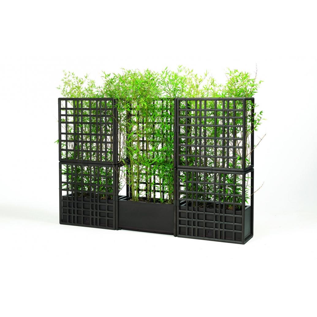 Sipario 2 nachhaltiger Sichtschutz mit Pflanzentrog günstig online kaufen