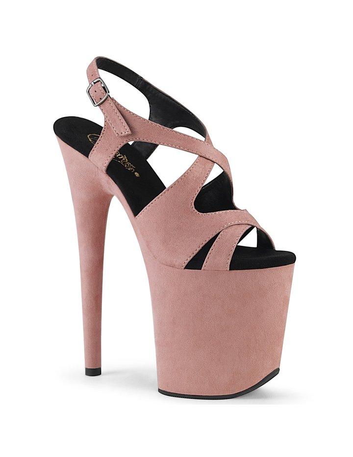 Slingback Sandaletten Flamingo-831FS - sexy High Heels von Pleaser 36 Rosa günstig online kaufen